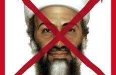 X marks the spot for Bin Laden's TIME cover