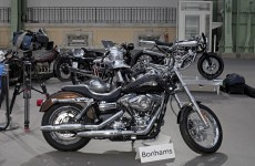 The Pope's Harley Davidson was just sold for almost €250k
