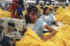 Fashion retailers in sweatshop accusations picture