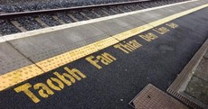 This train station sign in Kilkenny is so wrong, but can you tell why?