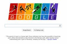 The Winter Olympics Google Doodle has a message for Russia's anti-gay law