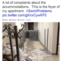 15 tweets that prove that Sochi isn't exactly ready for the Olympics