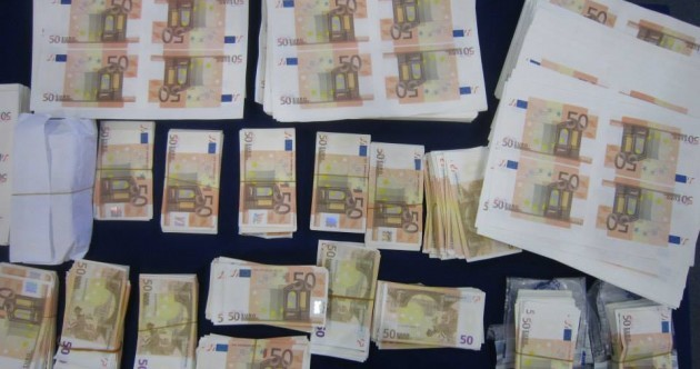 Here's what €2m worth of counterfeit cash looks like