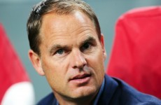 De Boer keen on Spurs or Liverpool job in the future