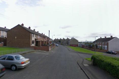 Corrib Avenue in west Belfast.