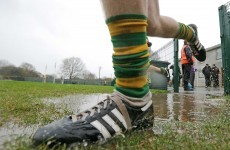 Bad weather forces changes to GAA weekend fixtures