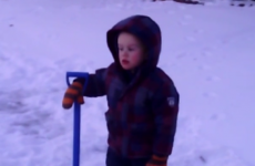 Freezing four-year-old shouts at Jesus to 'MAKE IT WARM'