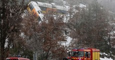 Two killed as massive falling boulder smashes into train in French Alps