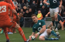 VIDEO: Cheap shot can't take gloss off Jackson try or Ireland win