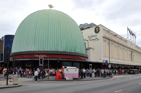 Madame Tussaud's on Marylebone road in central London