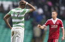 Celtic's hopes of repeat double ended by Aberdeen
