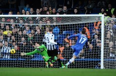 Eden Hazard hits a hat-trick as Chelsea power past Magpies