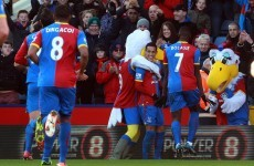 Palace new boys send West Brom into drop zone