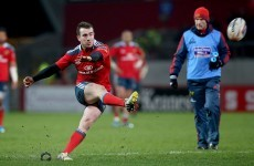 JJ Hanrahan a perfect 10 as Munster destroy Cardiff