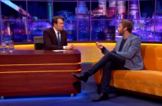 Chris O'Dowd talked about Roscommon people being sheep stealers, on Jonathan Ross