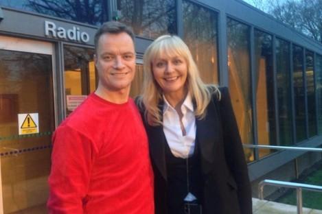 Rory O'Neill and Miriam O'Callaghan