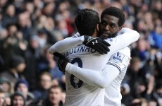 Spurs steal ahead in top-four pursuit thanks to classy Adebayor strike