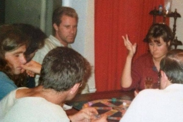 Oh, just Will Ferrell playing Trivial Pursuit in Bundoran in 1989