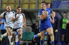 Depleted Leinster side secure straightforward win over Zebre