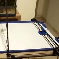 Hacker turns a 3D printer into an air hockey robot