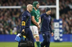 Tuohy targets Saracens return after fracture to his right arm
