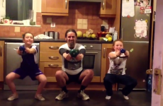 Check out 'healthy, fit guy' Luke Ming Flanagan doing squats