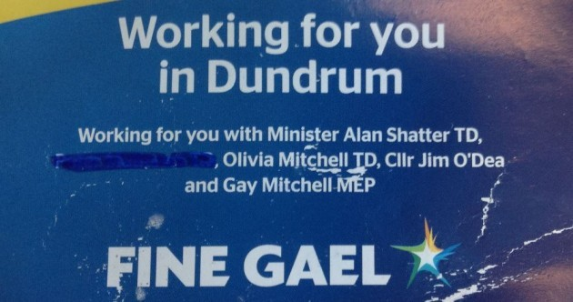 """FG councillor resorts to """"handy blue marker"""" to remove references to Mathews"""
