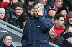 'Wenger the angriest I've ever seen him' - Arteta
