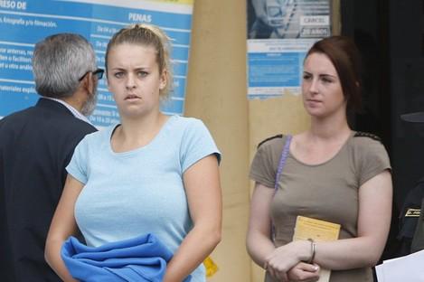 Melissa Reid and Michaella McCollum Connolly.