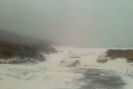 Conditions on Sheep's Head on Saturday.
