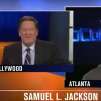Samuel L. Jackson flips out after reporter mistakes him for Laurence Fishburne