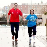 Rugby star cheering on Mr World and Newstalk host at Great Limerick Run
