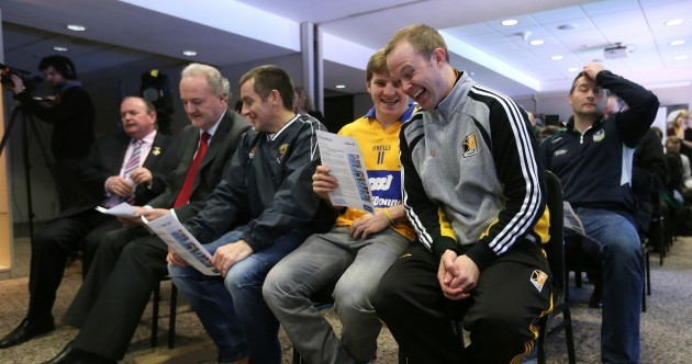 Banter Alert – So what did Podge Collins say that Tommy Walsh found so funny?