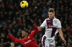 Woodwork and wonder save ensure Cardiff v Villa ends in stalemate