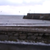Dramatic video of double wave over the sea wall at Spiddal Pier