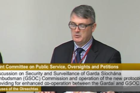 Simon O'Brien of the Garda Siochana Ombudsman Commission