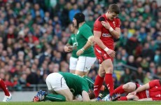 Scott Williams out for rest for Six Nations thanks to tackle on Brian O'Driscoll