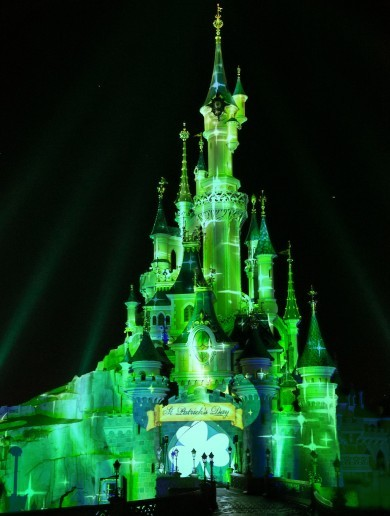 Sleeping Beauty's castle and Trump Tower are going green for Paddy's Day