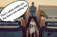 Cork's 'John Paul' Van Damme brilliantly parodies the epic split