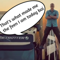 Cork's 'John Paul' Van Damme brilliantly parodies the epic split