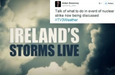 TV3's special coverage of Ireland's storms was extremely dramatic
