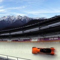 Sochi Bobsled crash leaves course worker with two compound leg fractures