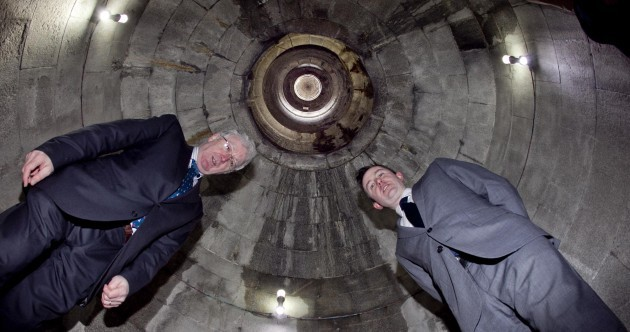Rebuilding work begins on bombed O'Connell Tower at Glasnevin
