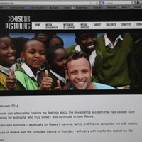 Pistorius 'consumed with sorrow' one year after shooting girlfriend dead