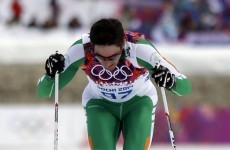 Ireland's Jan Rossiter finishes 82nd in the 15km cross-country ski race