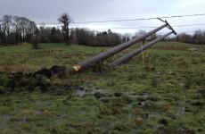 ESB crews working to restore power