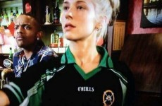 Ballymena jersey spotted on Eastenders last night