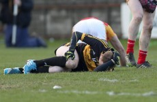 Worrying scenes as Gooch limps out of All-Ireland Club semi after knee injury