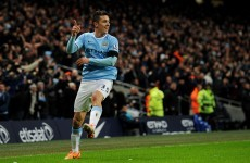 Manchester City cruise through as Jovetić and Nasri leave Chelsea sprawling