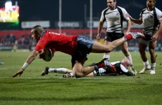 Zebo too good for Zebre but Munster workmanlike